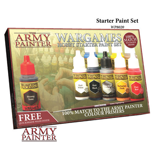 Army Painter: Wargames Hobby Starter Paint Set