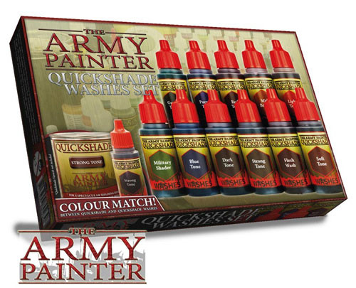 Army Painter: Quickshade Washes Set