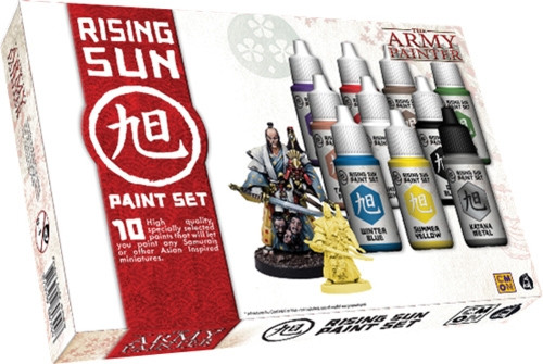 Army Painter: Rising Sun Paint Set