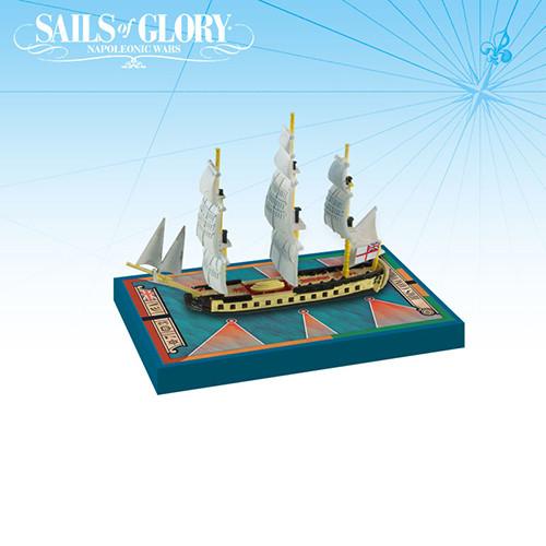 Sails of Glory: HMS Concorde 1783/ HMS Unite 1796 Frigate Pack