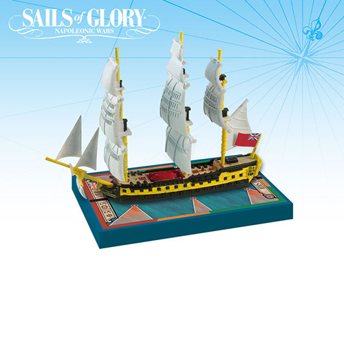 Sails of Glory: HMS Impetueux 1796/ HMS Spartiate 1798 Ship Pack