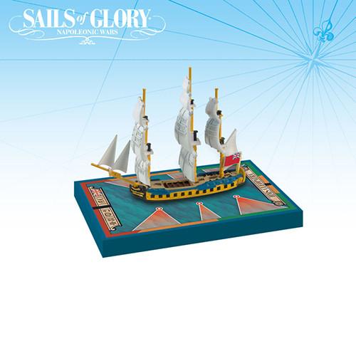 Sails of Glory: HMS Cleopatra 1779/ HMS Iphigenia 1780 Ship Pack