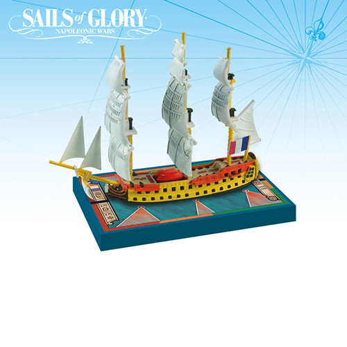 Sails of Glory: Le Berwick 1795/ Le Swiftsure 1801 Ship Pack