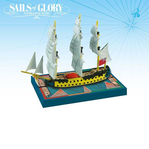 Sails of Glory: HMS Bellona 1760/ HMS Goliath 1781 Ship Pack