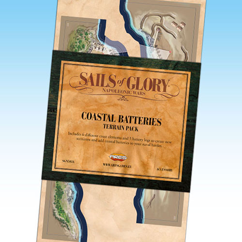 Sails of Glory: Coastal Batteries Terrain Pack