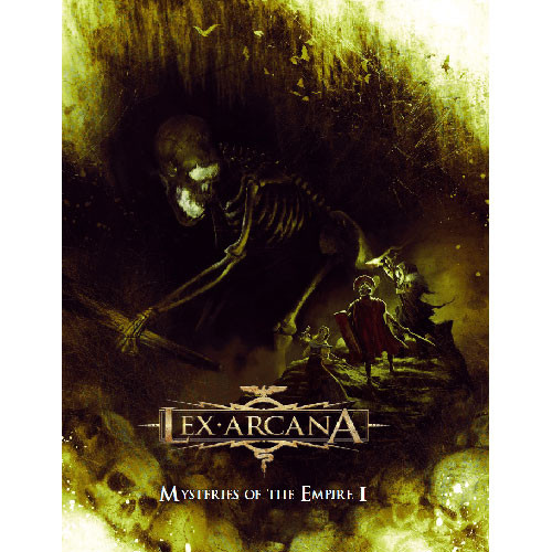 Lex Arcana RPG: Mysteries of the Empire Vol I (Hardcover)