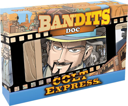 Ghost Board Game Colt Express Bandits Expansion