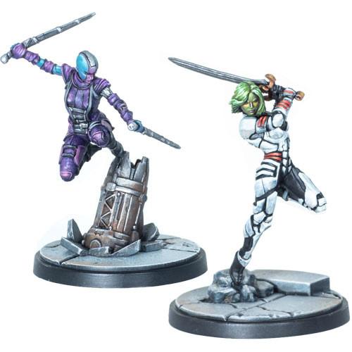 Marvel: Crisis Protocol - Gamora & Nebula Character Pack