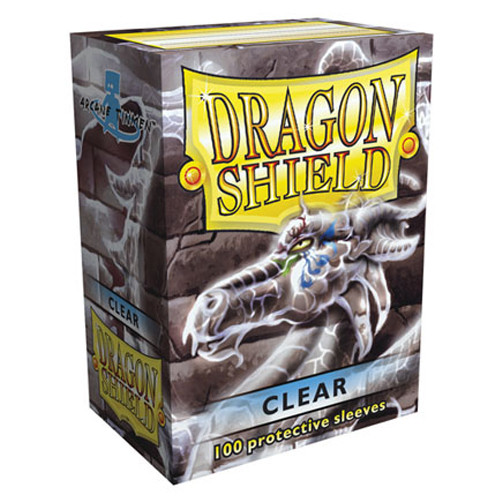 Dragon Shield Sleeves: Classic - Clear (100)