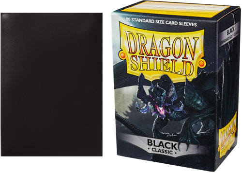 Dragon Shield Sleeves: Classic - Black (100)