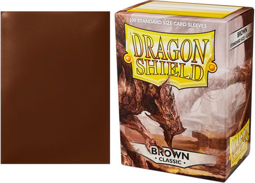 Dragon Shield Sleeves: Classic - Brown (100)