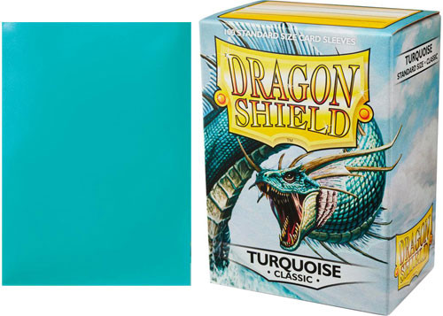 Dragon Shield Sleeves: Classic - Turquoise (100)