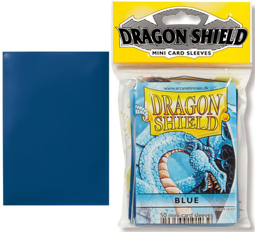 Dragon Shield Sleeves: Classic - Japanese Size - Blue (50)