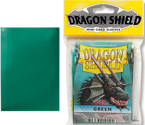 Dragon Shield Sleeves: Classic - Japanese Size - Green (50)