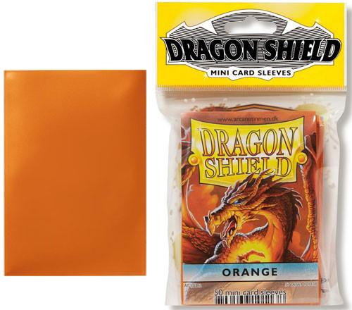Dragon Shield Sleeves: Classic - Japanese Size - Orange (50)