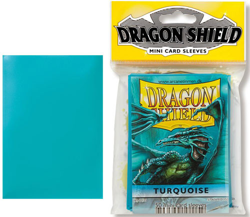 Dragon Shield Sleeves: Classic - Japanese Size - Turquoise (50)