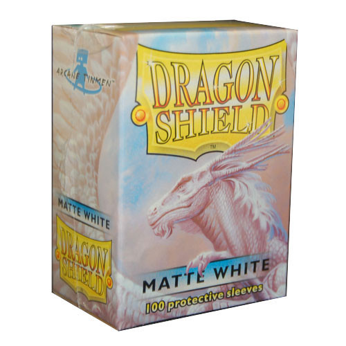 Dragon Shield Sleeves: Matte - White (100)