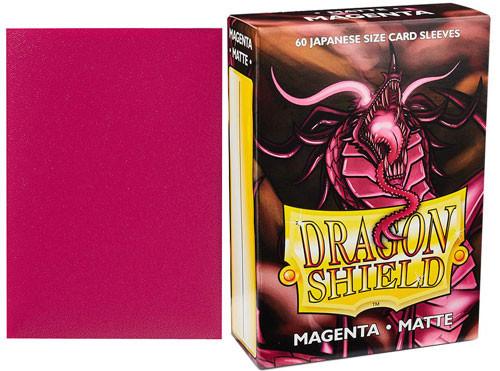 60 Sleeves Dragon Shield classic sleeves-MEGENTA Red