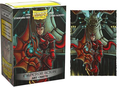 Dragon Shield Sleeves: Matte - Emporer Scion Portrait (100)
