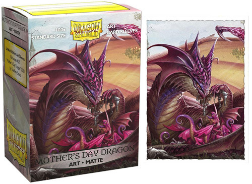Dragon Shield Sleeves: Matte - 2020 Mother's Day Dragon (100)