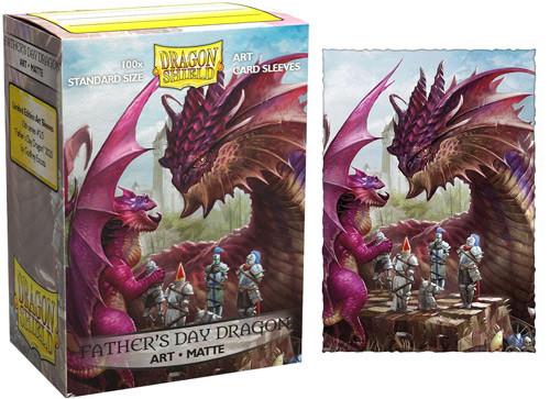 Dragon Shield Sleeves: Matte - 2020 Father's Day Dragon (100)