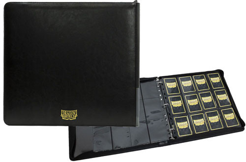 Dragon Shield Card Codex: XL Zipster Binder - Black