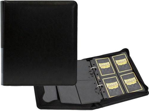 Dragon Shield Card Codex: Small Zipster Binder - Black