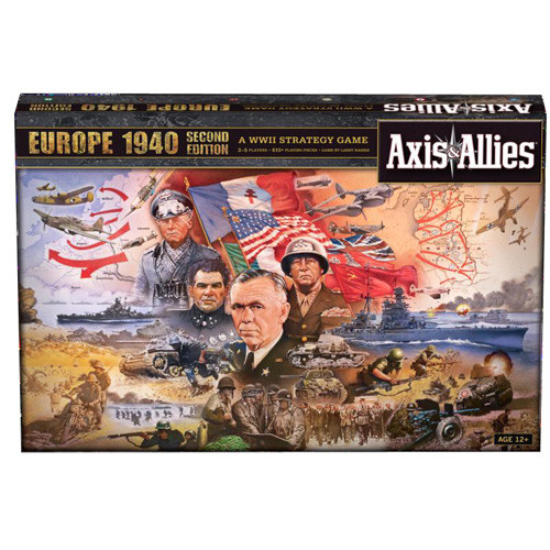 Axis and Allies Europe 1940 - 2nd Edition