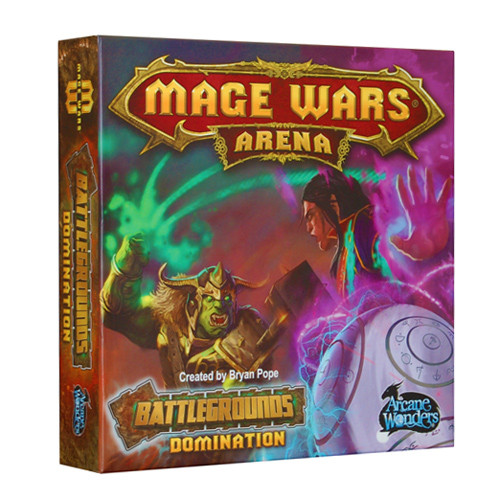 Mage Wars: Arena - Battlegrounds Domination Expansion