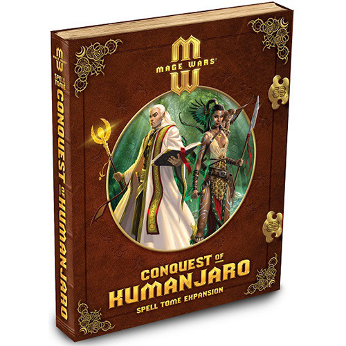 Mage Wars: Conquest of Kumanjaro Spell Tome Expansion