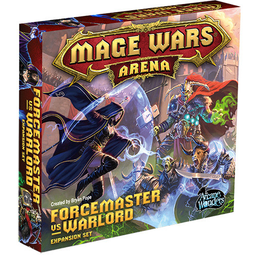 Mage Wars Arena: Forcemaster vs. Warlord Expansion