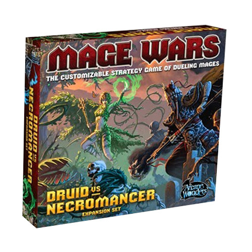 Mage Wars: Druid vs Necromancer Expansion