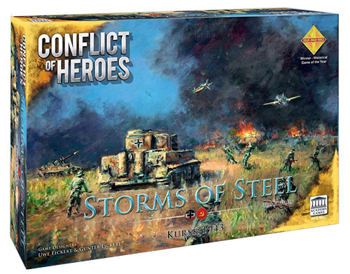 Conflict of Heroes: Storms of Steel - Kursk 1943 (3rd Edition)