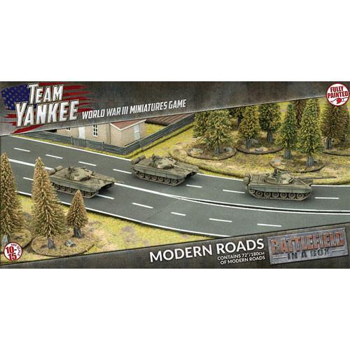 Team Yankee: Battlefield in a Box - Modern Roads