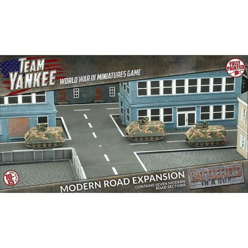 Team Yankee: Battlefield in a Box - Modern Road Expansion