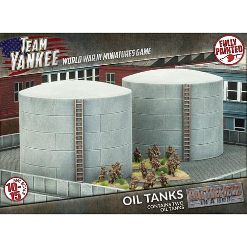 Team Yankee: Battlefield in a Box - Oil Tanks