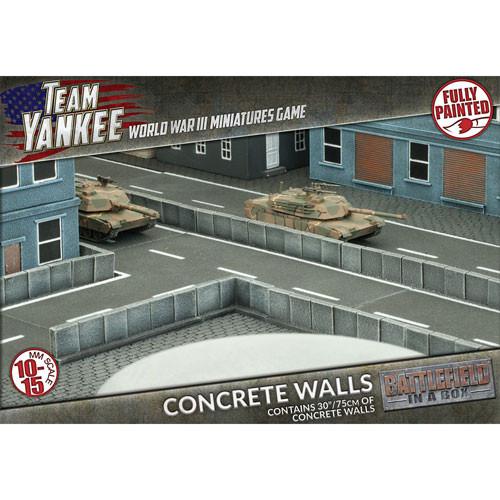 Team Yankee: Battlefield in a Box - Concrete Walls