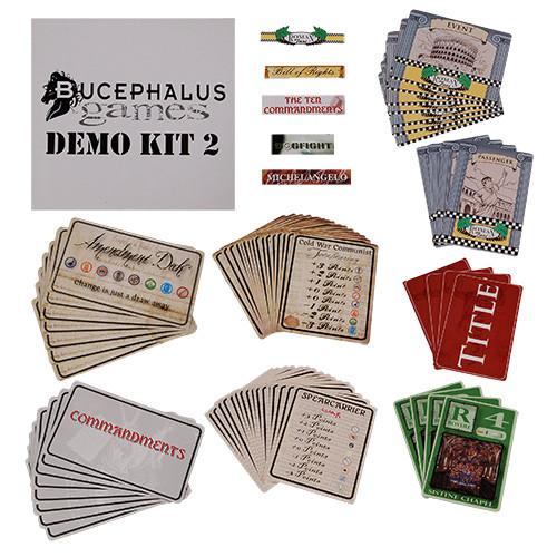 Bucephalus Games Demo Kit #2