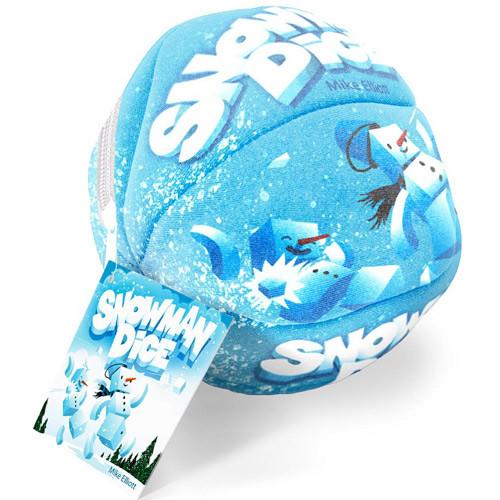 Snowman Dice Board Games Miniature Market