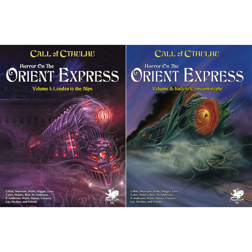 Call of Cthulhu 7E RPG: Horror on the Orient Express - Two-Volume Set