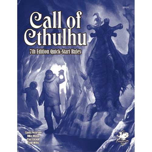 Call of Cthulhu 7E RPG: Quick-Start Rules