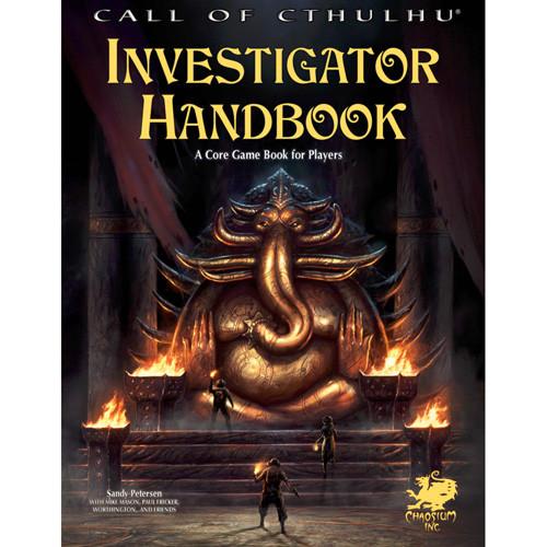 Call of Cthulhu 7E RPG: Investigator Handbook