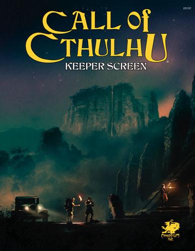 Call of Cthulhu RPG: Keeper Screen Pack