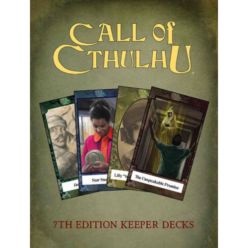 Call of Cthulhu 7E RPG: Keeper Decks