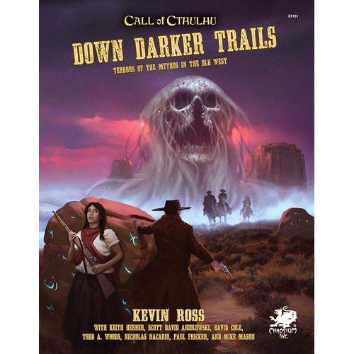 Call of Cthulhu 7E RPG: Down Darker Trails (Hardcover)