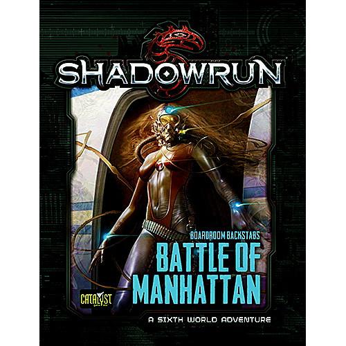 Shadowrun 5th Edition RPG: Battle of Manhattan