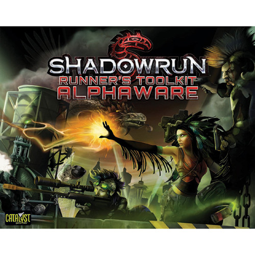 Shadowrun 5th Edition RPG: Runner's Toolkit - Alphaware