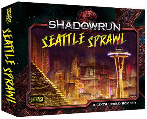 Shadowrun 5th Edition RPG: Seattle Sprawl Box Set
