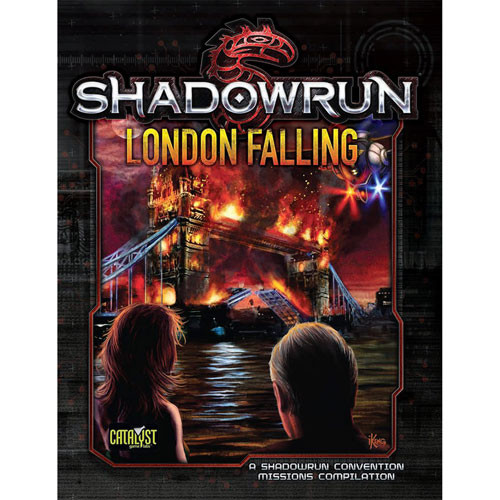 Shadowrun 5th Edition RPG: London Falling (Softcover)