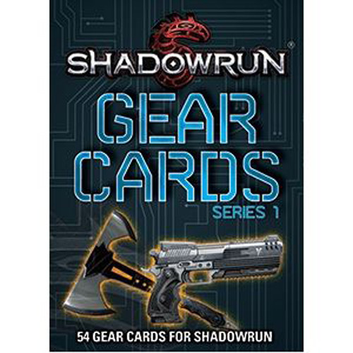 Shadowrun RPG: Gear Cards, Series 1